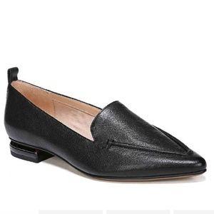 Franco Sarto Susie Leather Black Loafers 9